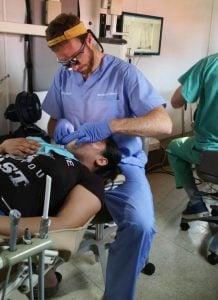 Dr. Ian MacKenzie Farnham volunteering in El Salvador